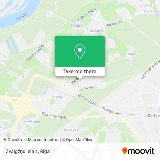 Zvaigžņu iela 1 map