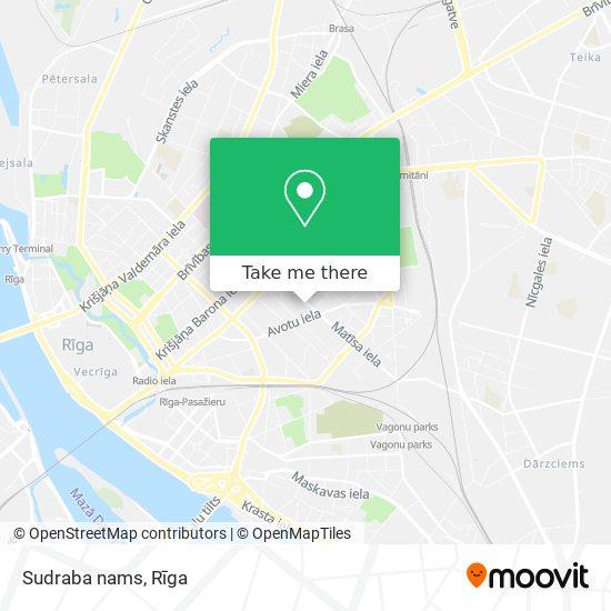 Sudraba nams map