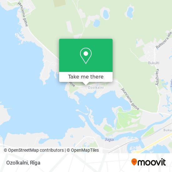 Ozolkalni map