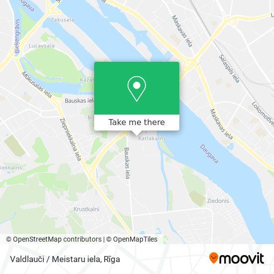 Valdlauči / Meistaru iela map