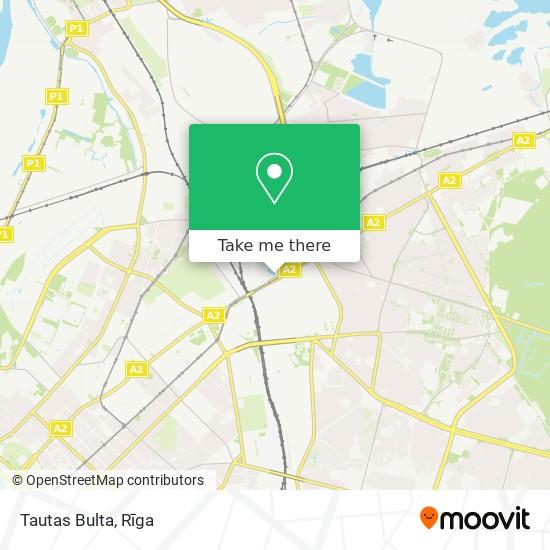 Tautas Bulta map