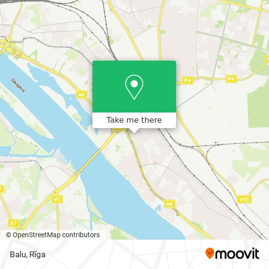 Balu map