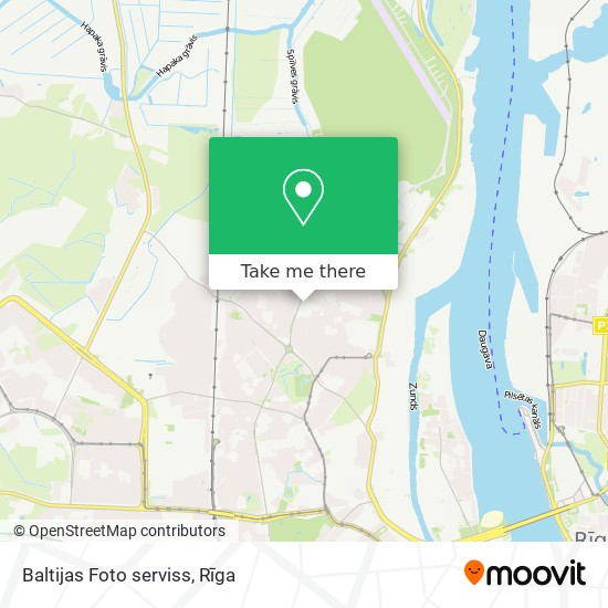 Baltijas Foto serviss map
