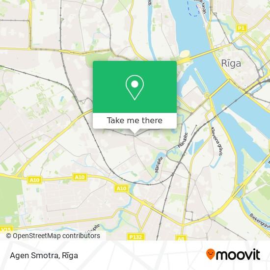 Agen Smotra map