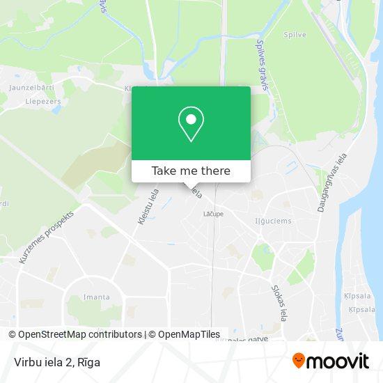 Virbu iela 2 map