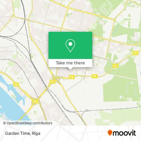 Garden Time map