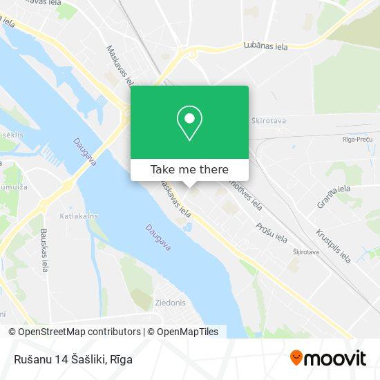 Rušanu 14 Šašliki map