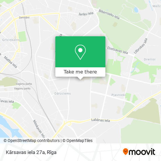 Kārsavas iela 27a map