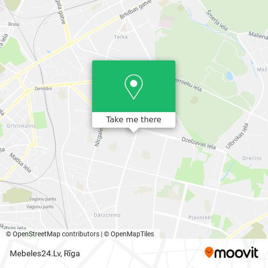 Mebeles24.Lv map