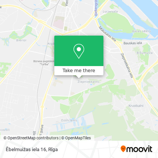 Ēbelmuižas iela 16 map