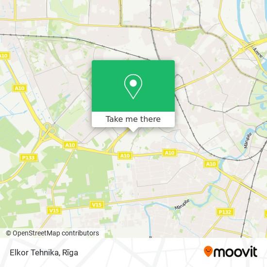 Elkor Tehnika map