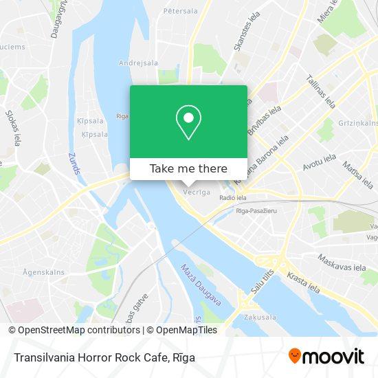 Transilvania Horror Rock Cafe map