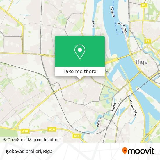 Ķekavas broileri map