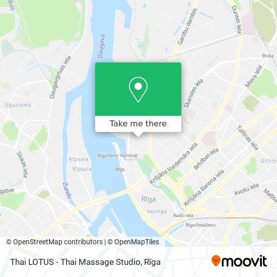 Thai LOTUS - Thai Massage Studio map