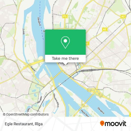 Egle Restaurant map
