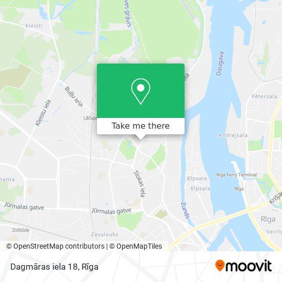 Dagmāras iela 18 map
