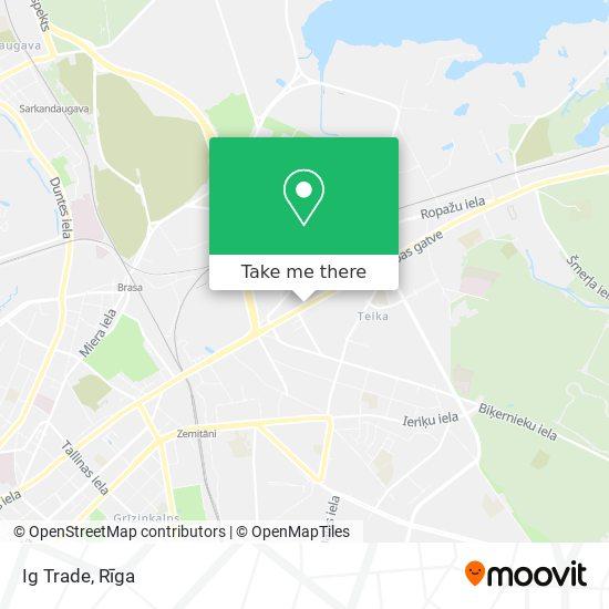 Ig Trade map