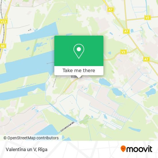 Valentīna un V map