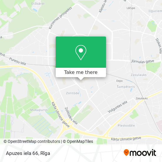 Apuzes iela 66 map