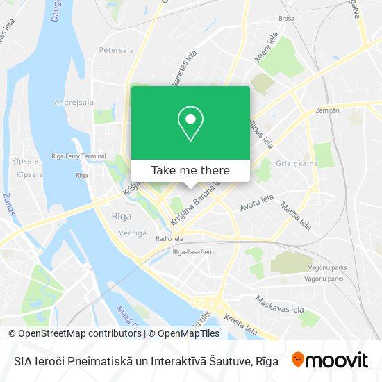 SIA Ieroči Pneimatiskā un Interaktīvā Šautuve map