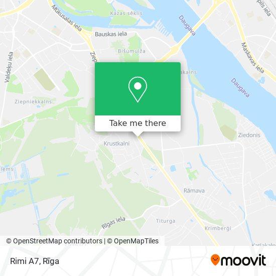 Rimi A7 map