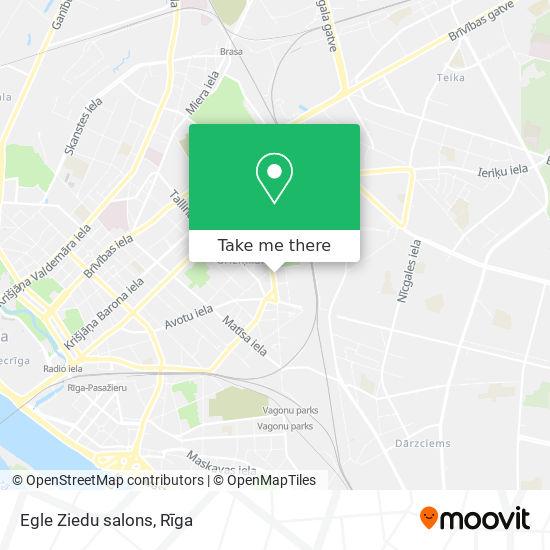 Egle Ziedu salons map
