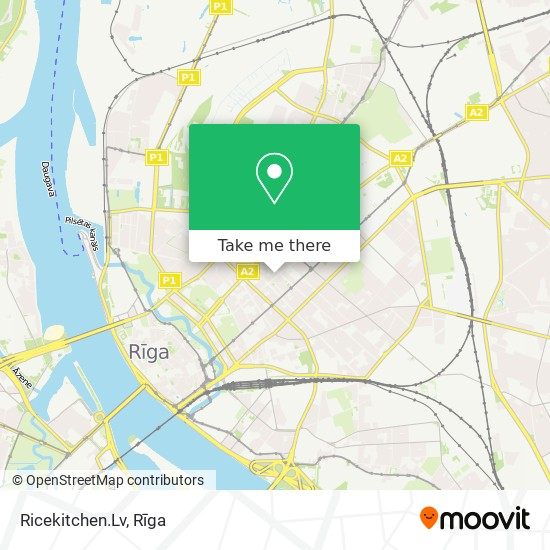 Ricekitchen.Lv map