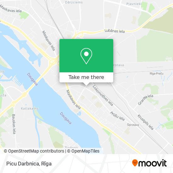 Picu Darbnica map