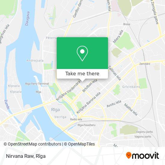 Nirvana Raw map