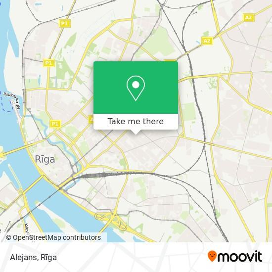 Alejans map
