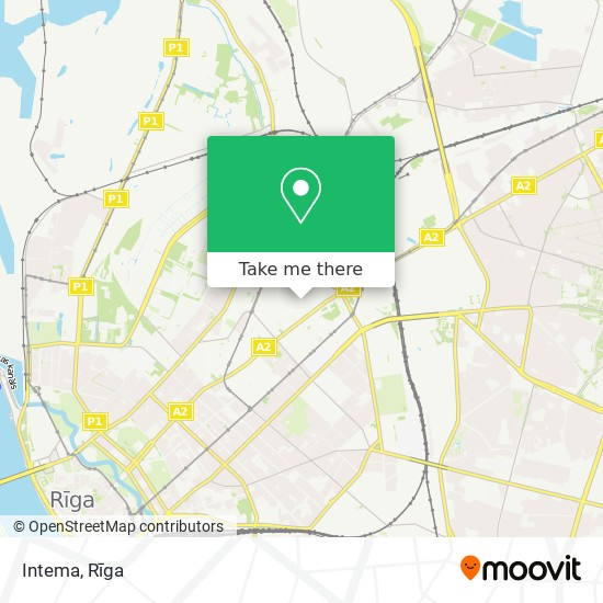 Intema map