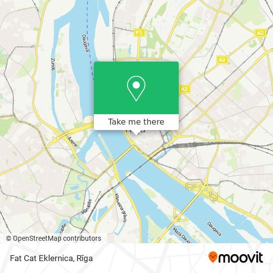 Fat Cat Eklernica map