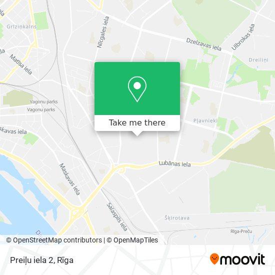 Preiļu iela 2 map