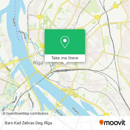 Bars Kad Zebras Deg map