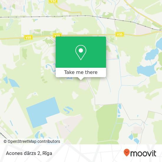 Acones dārzs 2 map