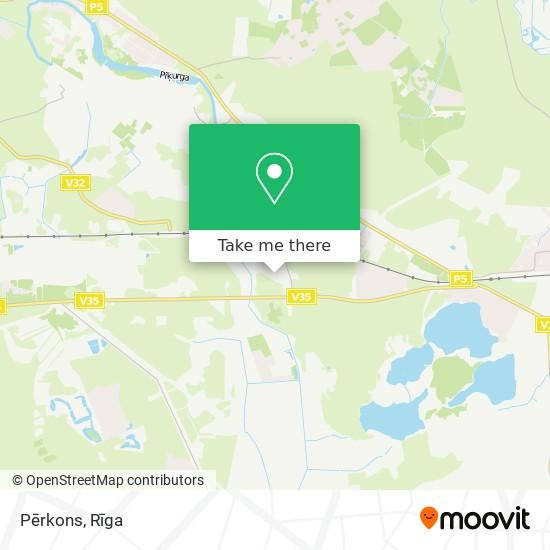 Pērkons map