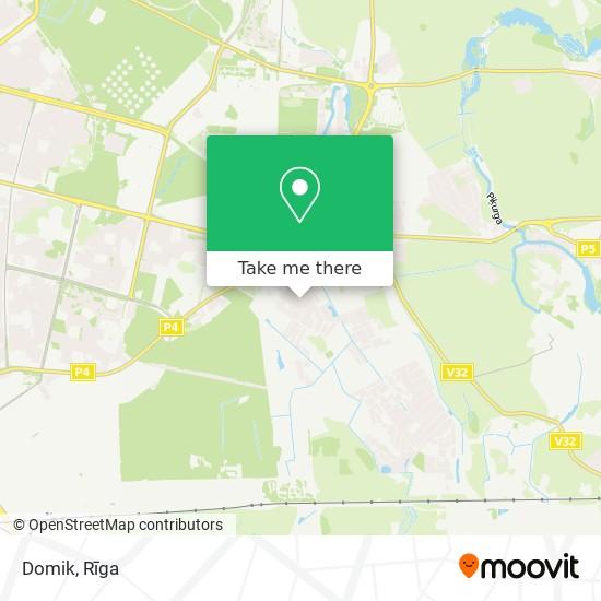Domik map