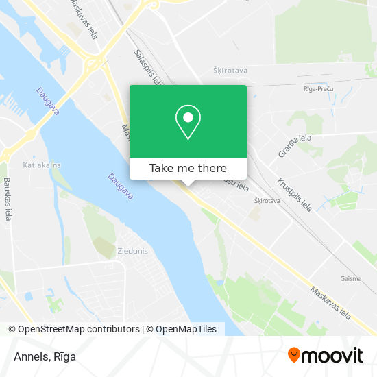 Annels map