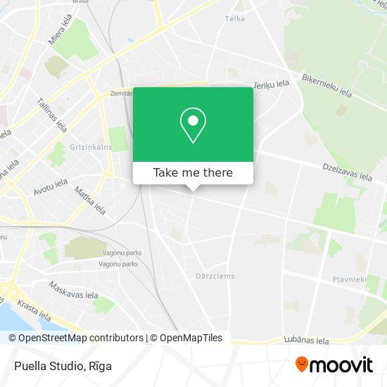 Puella Studio map