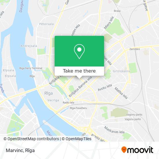 Marvinc map