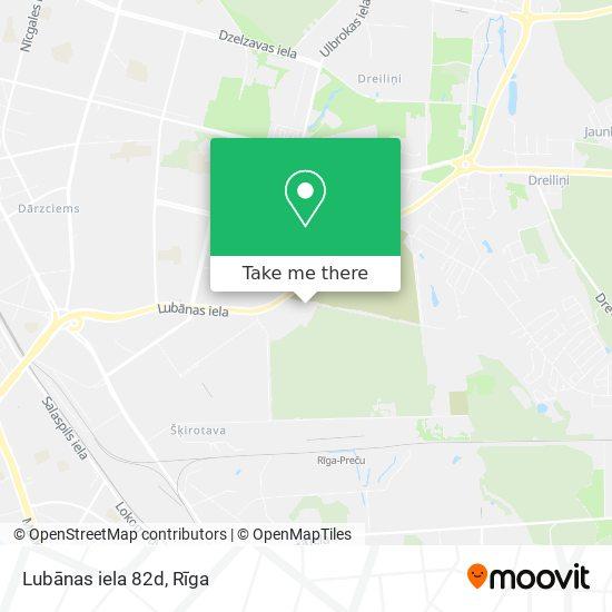 Lubānas iela 82d map
