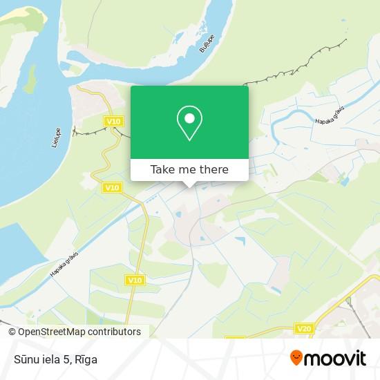Sūnu iela 5 map