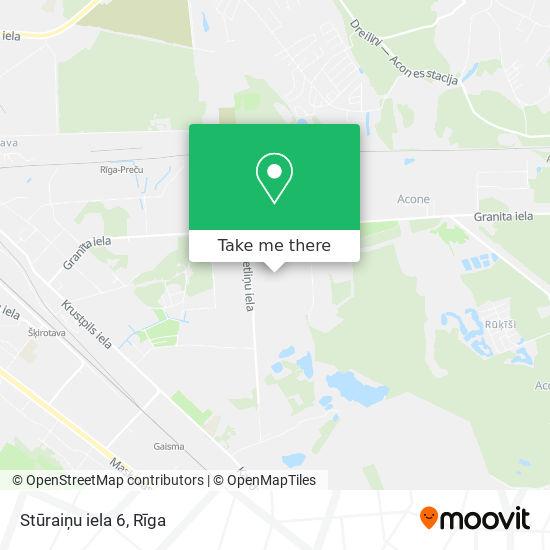Stūraiņu iela 6 map