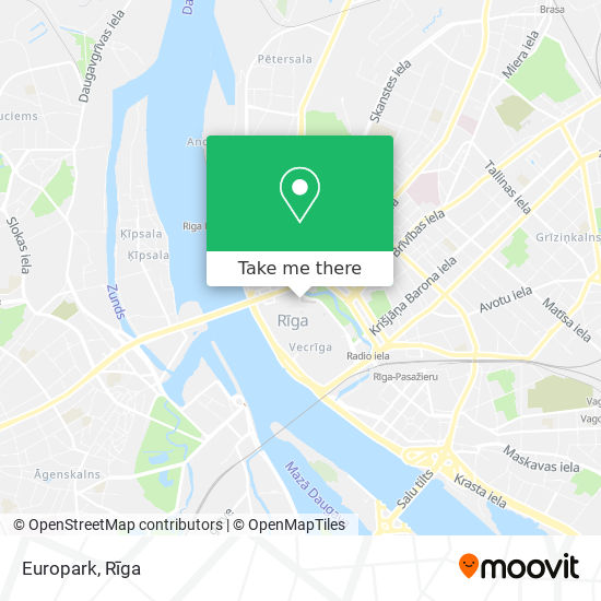 Europark map