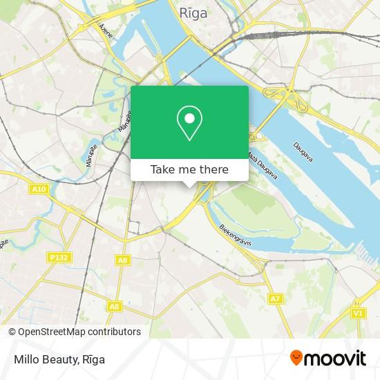 Millo Beauty map