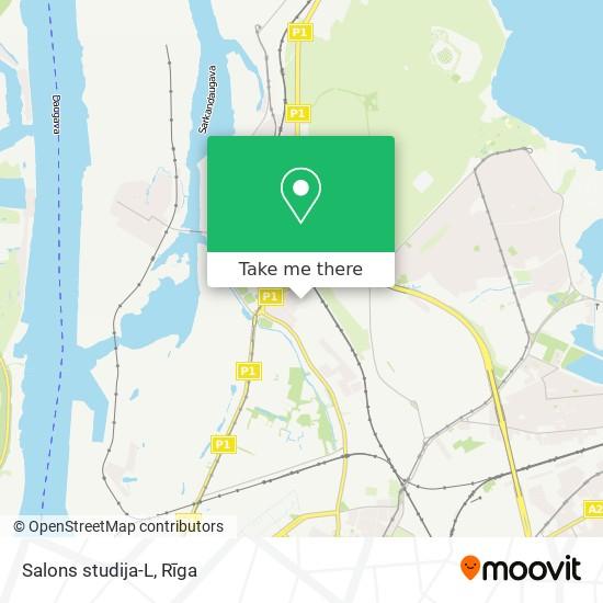 Salons studija-L map