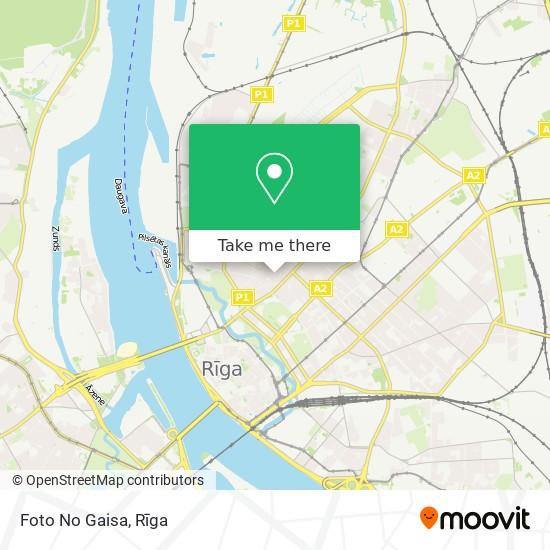 Foto No Gaisa map