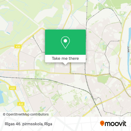 Rīgas 46. pirmsskola map