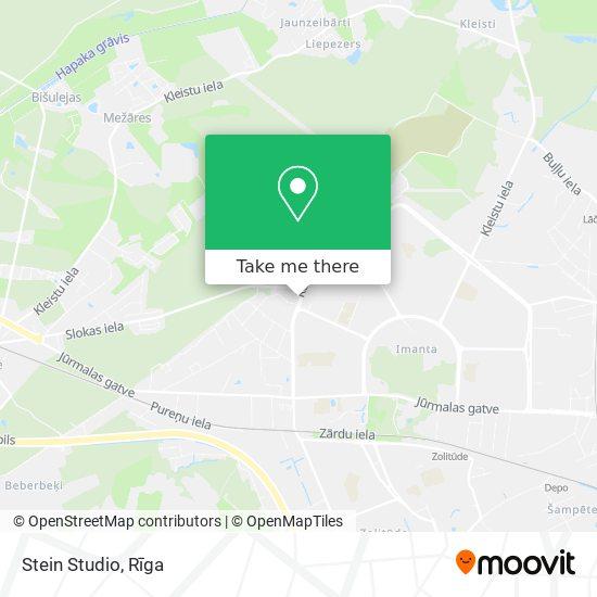 Stein Studio map