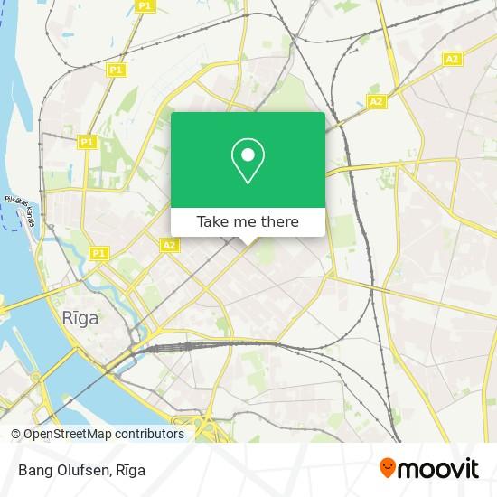 Bang Olufsen map